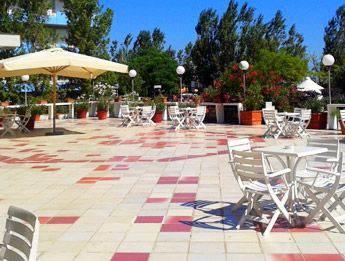 Terrazza Hotel Britannia 4 stelle cesenatico