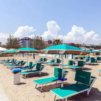 Spiaggia Privata Hotel Britannia Cesenatico